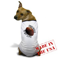 Dog T-shirts: Sports, Humor, Patriotic, Flowers