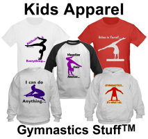 Kids Gymnastics Apparel at Gymnastics Stuff