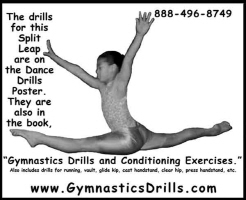 Gymnastics Drills and Conditioning Posters