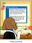 Doggie Blogger