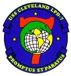 USS Cleveland LPD 7 Navy Ship
