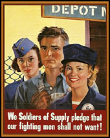 SOLDIERS OF SUPPLY WWII T-SHIRTS