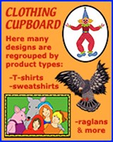 KIDS & PARENTS T-SHIRTS & CLOTHING CUPBOARD
