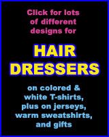 HAIRDRESSER T-SHIRTS