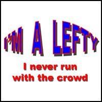 I'M A LEFTY T-SHIRTS AND GIFTS