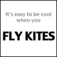 EASY TO BE COOL KITE FLYER T-SHIRTS & GIFTS