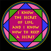 THE SECRET OF LIFE T-SHIRTS & GIFTS
