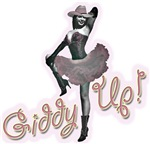 Pinup Giddy Up  Cowgirl