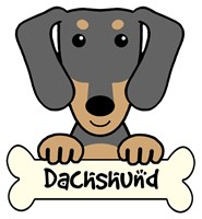 Personalized Dachshund (Short Hair)