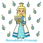 Hanukkah Princess (Blonde Hair)