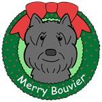 Bouvier Des Flandres Christmas Ornaments