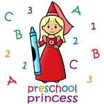 Preschool Princess (Blonde Hair)