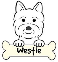 Personalized West Highland White Terrier