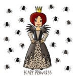 Scary Princess (Red Hair)