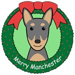 Manchester Terrier Christmas Ornaments