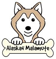 Personalized Alaskan Malamute