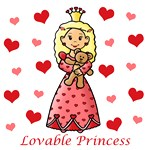 Lovable Princess (Blonde Hair)
