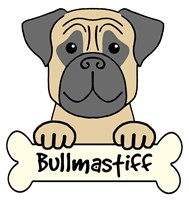 Personalized Bullmastiff