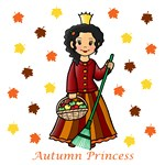 Autumn Princess (Black Hair)
