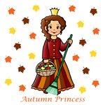 Autumn Princess (Brown Hair)