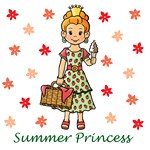 Summer Princess (Red Hair)