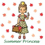 Summer Princess (Brown Hair)