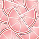 Pink Grapefruit Wedges