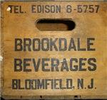 Brookdale Beverage Wood Crate Coaster