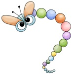 Funny Colorful Dragonfly