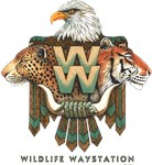 Wildlife Waystation Retro Logo