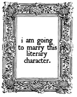 I Am Going to Marry This Literary Character.