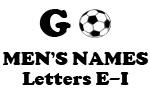 Soccer (Go Men Letter E-I)