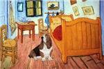 VAN GOGH'S ROOM<br>& Basset Hound