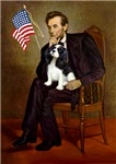 ABRAHAM LINCOLN<br>& Cavalier King Charles Spaniel