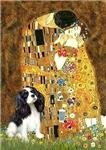 THE KISS<br>& Cavalier King Charles Spaniel