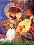 ANGEL WITH MANDOLIN<br>& Fawn Papillon