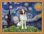 STARRY NIGHT<br>& Brittany Spaniel