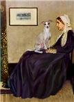 WHISTLER'S MOTHER<br>Italian Greyhound