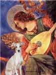 ANGEL WITH MANDOLIN<br>Italian Greyhound