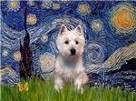 STARRY NIGHT<br>& West Highland Terrier