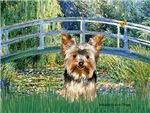 LILY POND BRIDGE<br>& Yorkshire Terrier