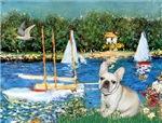 SAILBOATS<br>& Fawn French Bulldog