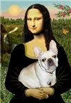 MONA LISA<br>& Fawn French Bulldog