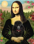 MONA LISA<br>& Black Poodle (Toy/Min)