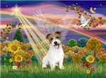 AUTUMN ANGEL<br>& Jack Russell Terrier