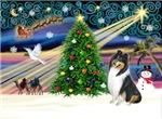CHRISTMAS MAGIC<br>& Collie