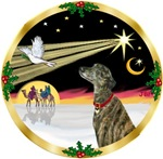 CHRISTMAS DOVE<br>& Greyhound
