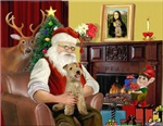 SANTA AT HOME<br>& Lakeland Terrier