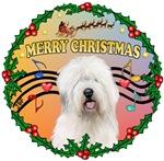 CHRISTMAS MUSIC #3<br>& Old English Sheepdog