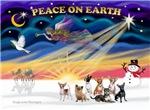 CHRISTMAS SUNRISE<br>& 7 Chihuahuas